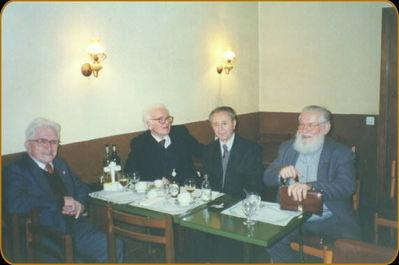 Traian Golea, Gh. Cretu, Filon Verca și Mircea Dimitriu