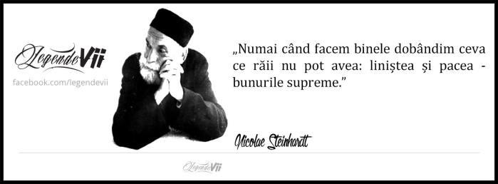 steinhardt - citat Legende Vii