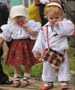copii români