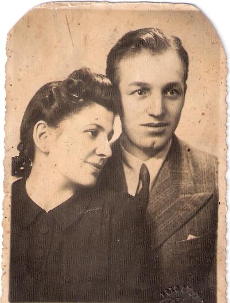 petre baicu - Emilia si Petre Baicu, parintii lui Horia in martie 1941