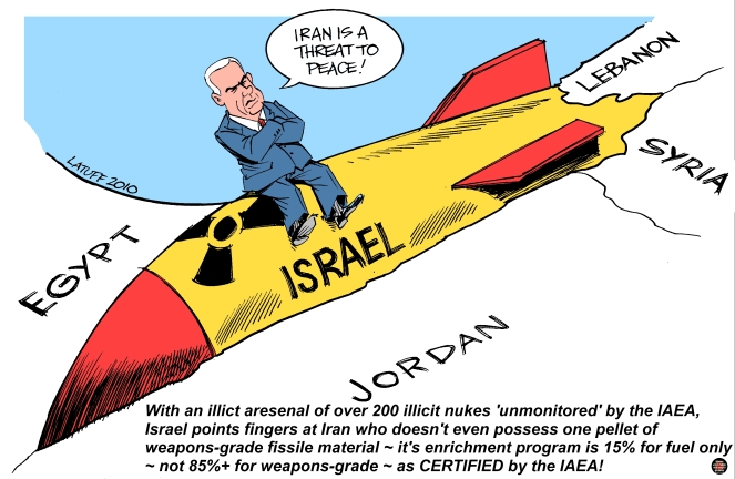 iran israel nuclear