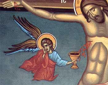 potir inger Hristos