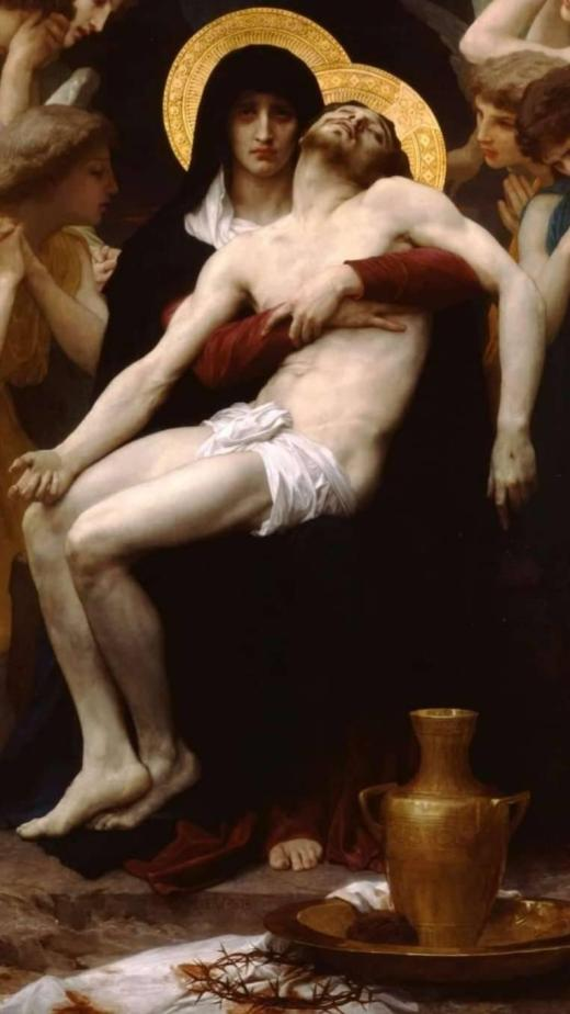 Hristos coborat de pe cruce